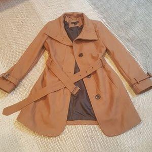 Worthington Camel coat size small.